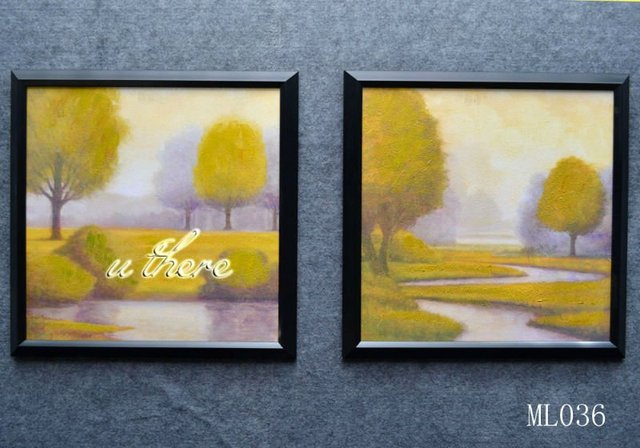 Free shipping !! modern landscape oil painting for home decoration painting