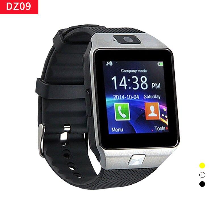 Самые дешевые DZ09 Bluetooth Смарт-часы для мужчин Интеллектуальные цифровые спортивные Смарт-часы Поддержка SIM TF карты напоминание о сообщениях дропшиппинг