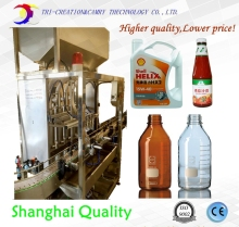 shanghai filler,piston machine,4 oil