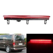 ANGRONG 1×18 SMD задние лампы светодио дный высокий уровень стоп для Volkswagen VW T5 TRANSPORTER/MULTIVAN/CARAVELLE 03-15 красный объектив