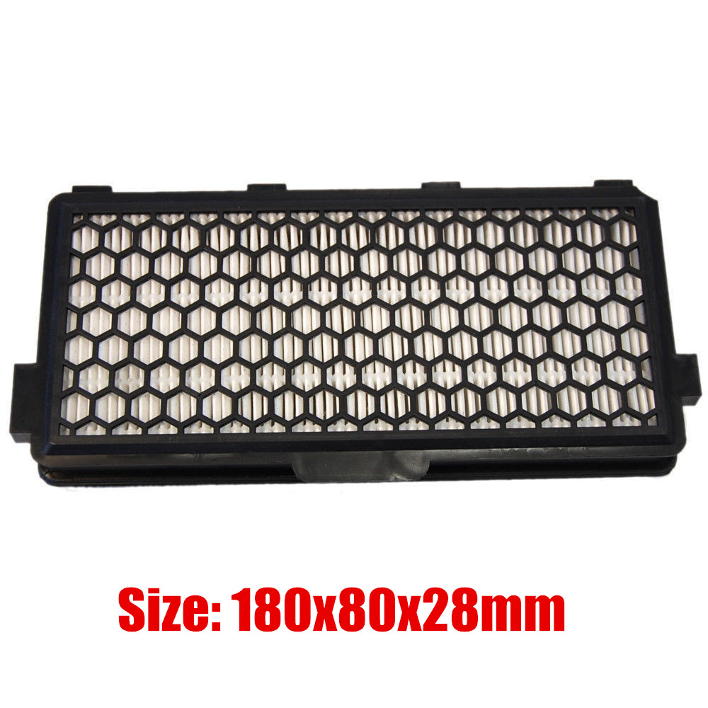 1pcs Vacuum Cleaner parts Active HEPA Filter SF-AH 50 for Miele S4 S5 serie S5780 Cat&Dog5000 S8330 S6240 S6240-S6760 serie hepa filter for miele s300 s600 s2 s7 series vacuum cleaner compare to miele part sf ah30 vacuum replacement accessories 2pcs