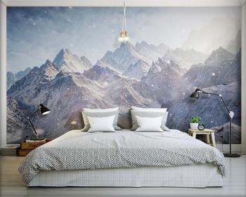 Beibehang d behang majestic kunlun bergen hd foto behang bedekt