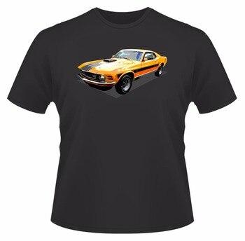 Camisetas moda verano 2019 estilo 1970 Mustang Mach I Ideal regalo de cumpleaños o baloncesto camiseta