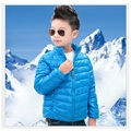 Azul sólida Jaqueta Menino Para Baixo Casacos Outfits Crianças Inverno Casacos Infantis meninos Outerwear parkas Venda Quente
