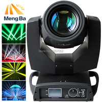 200W Beam Spot 2in1 RGBW Led Moving Head Lights LCD Display DMX Controller 17Gobos+14Chips Stage Light