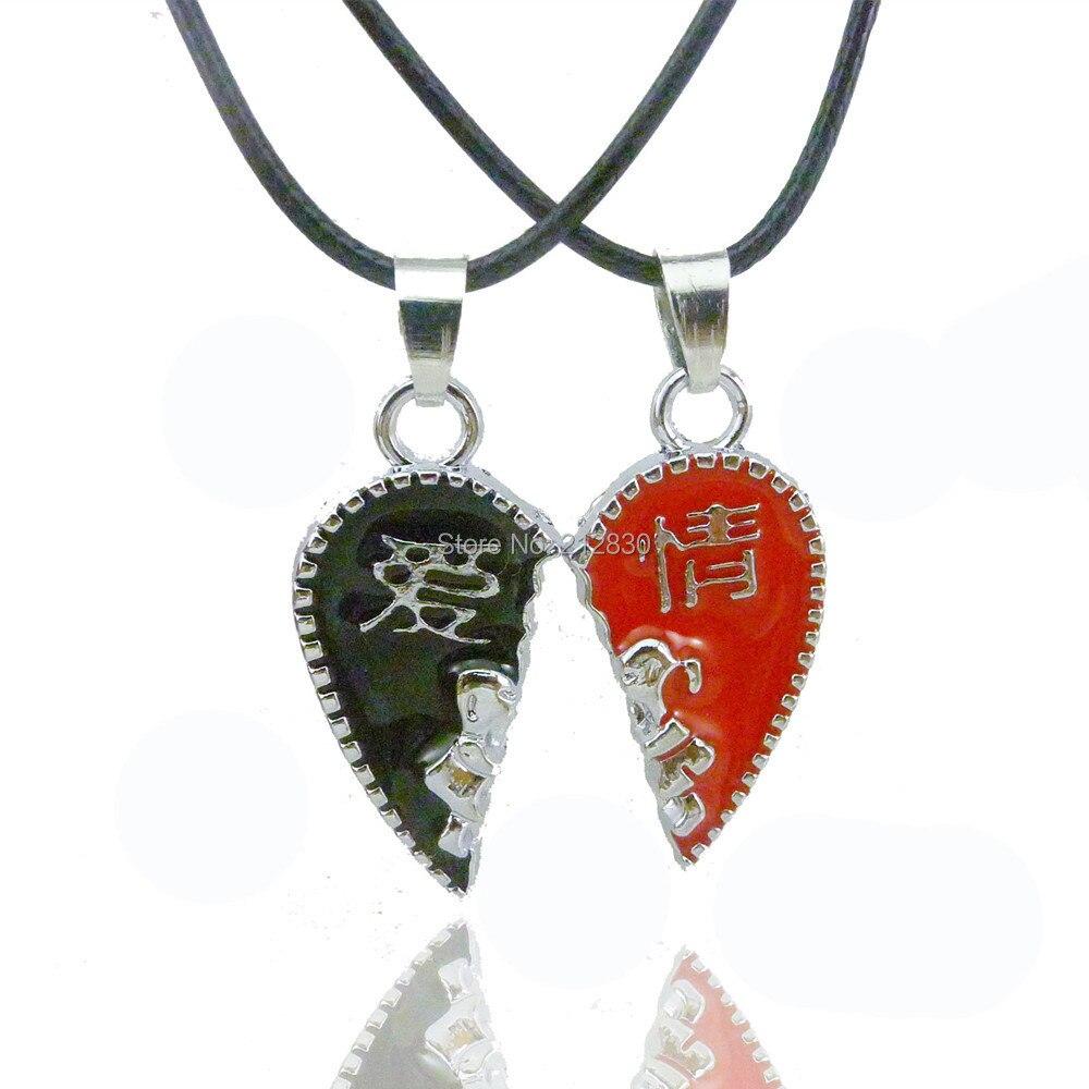 men women couple heart jewelry best friend Christmas gift lock key ...