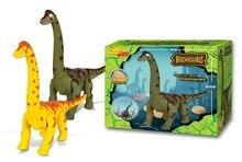 Electronic Interesting toys lay eggs dinosaur Toys brachiosaurus Movable dinosaur crawl sound toys children educational toy