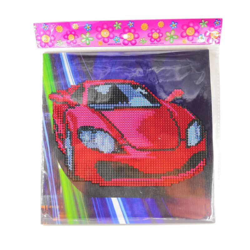 Saizhi DIY бриллиантовые наклейки ручной работы приклеиваемые кристаллы картина мозаичная головоломка игрушки случайного цвета детские наклейки игрушка подарок SZ3162
