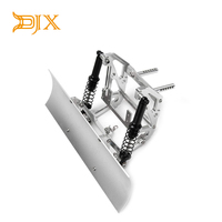 Metal Front Snow Shovel Plow Blade Snow Sweeping Tools for 1/10 RC Crawler Axial SCX10&SCX10 ll Traxxas TRX4 90046 90047