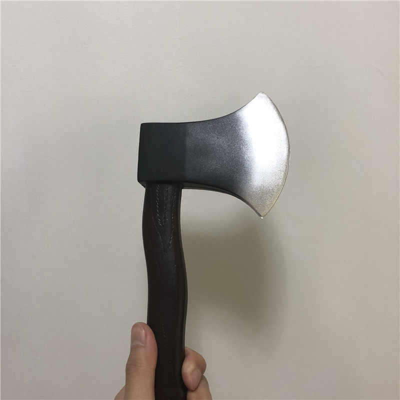 28cm Fire Axe Game Cosplay Outdoor Survival Hunting Camping Party Weapon Children S Toys Pu Foam Tactical Axe Role Playing