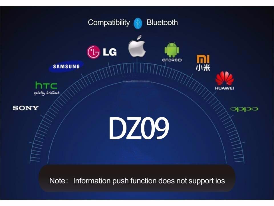 DZ09 smart watch watches men for smartphone xiaomi phone (8)