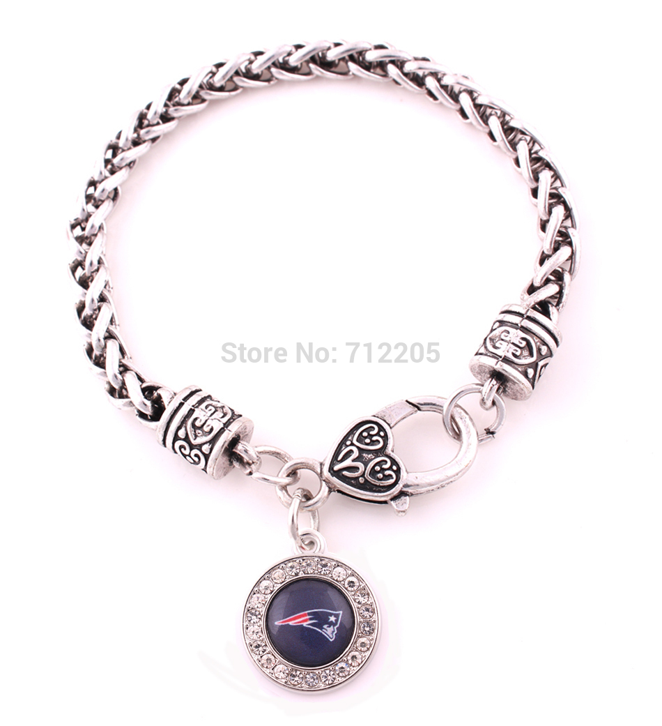 New England Patriots Bracelet In Charm Bracelets From Jewelry Accessories On Aliexpress Alibaba Group
