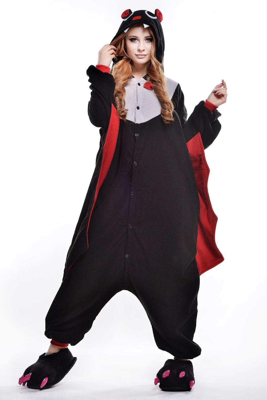 Polar Fleece Bat Onesie Anime Cosplay Adult Animal Footed   Footie Pajamas Halloween  CostumesCollection Footie Pajamas Halloween Costumes Pictures  Batman  . Halloween Costumes Bath Uk. Home Design Ideas