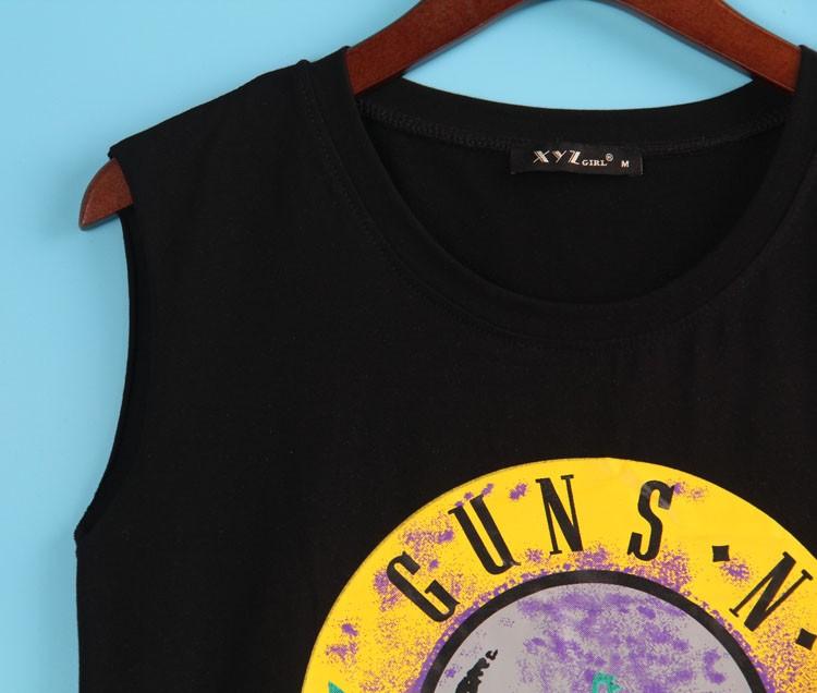 HTB11BfyJFXXXXXqXVXXq6xXFXXXU - 2 Colors Sexy T Shirt GUNS N ROSES Print T-shirt Sleeveless
