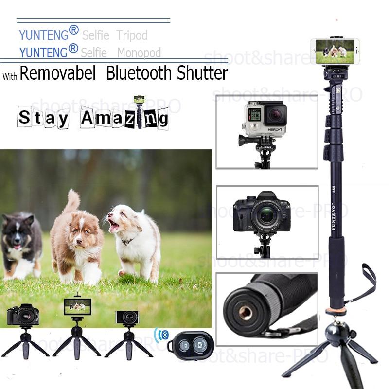 Caméra d'origine déclencheur à distance Bluetooth YUNTENG Monopod - Caméra et photo - Photo 6