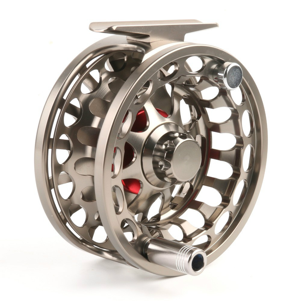 Vx 5 7 wt fly reel 100 waterproof large arbor saltwater for Saltwater fly fishing reels