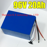 96V 20ah electric bike battery fit for 2000W 3000w Samsung Electric Bicycle lithium Battery with BMS Charger 96v li ion scooter