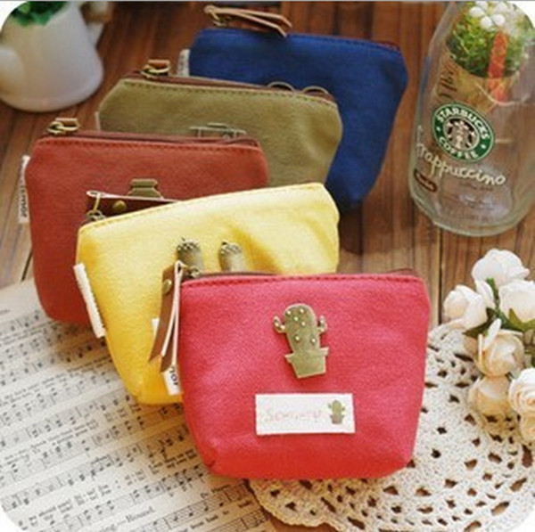 Us 5 98 New Brand Fashion Coin Purse Metal Mini Key Wallet Small Money Bags Canvas Pouch Retail Whole Wedding Party Xms Gift In