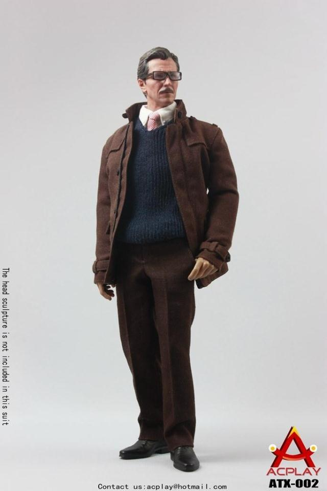 1/6 scale figure doll Gotham City Police Commissioner Gordon 12 Action figure doll Collectible Figure Plastic Model Toys.No box hot figures doll accessories pirp toys 1 6 batman police commissioner gordon inspector dresscode clothes set for 12 figure body