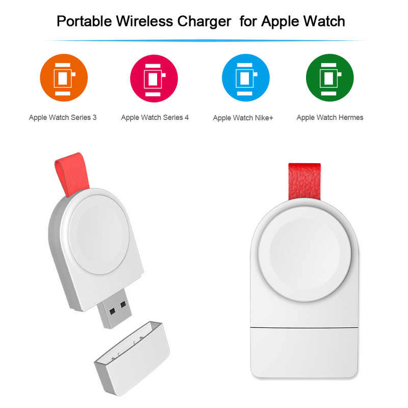 Portable Wireless Charger forApple I Watch Series 2 3 Watch Charging Cable Wireless Charging USB Charger for IWatch 1 2 3 4 TSLM