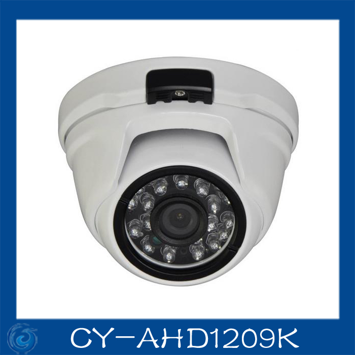 AHD camera  1.0MP  metal dome cameras 24pcs leds camera waterproof night vision IR cut filter 1/4 Surveillance home.CY-AHD1209K 4 in 1 ir high speed dome camera ahd tvi cvi cvbs 1080p output ir night vision 150m ptz dome camera with wiper