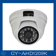 AHD camera 1.0MP metal dome cameras 24pcs leds camera waterproof night vision IR cut filter 1/4 serveillance home.CY-AHD1209K