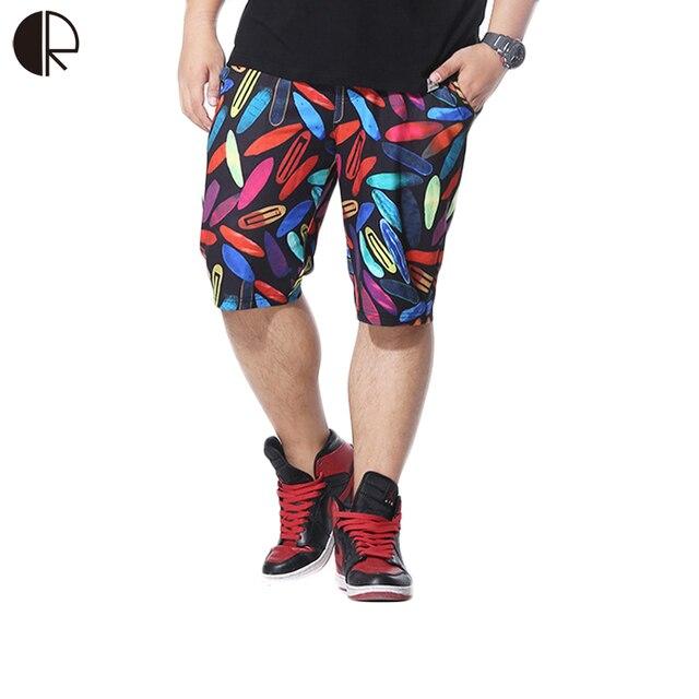2016 Summer Brand Men's Printed Board Shorts trunks Men casual Boardshorts Beach shorts Plus Size MP841
