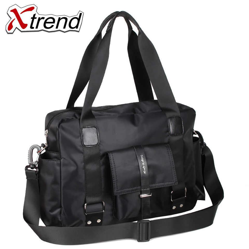 ca88998204 Xtrend Nylon bag Business Men bags Laptop Tote Briefcases Crossbody bags  Shoulder Handbag Men s Messenger Bag