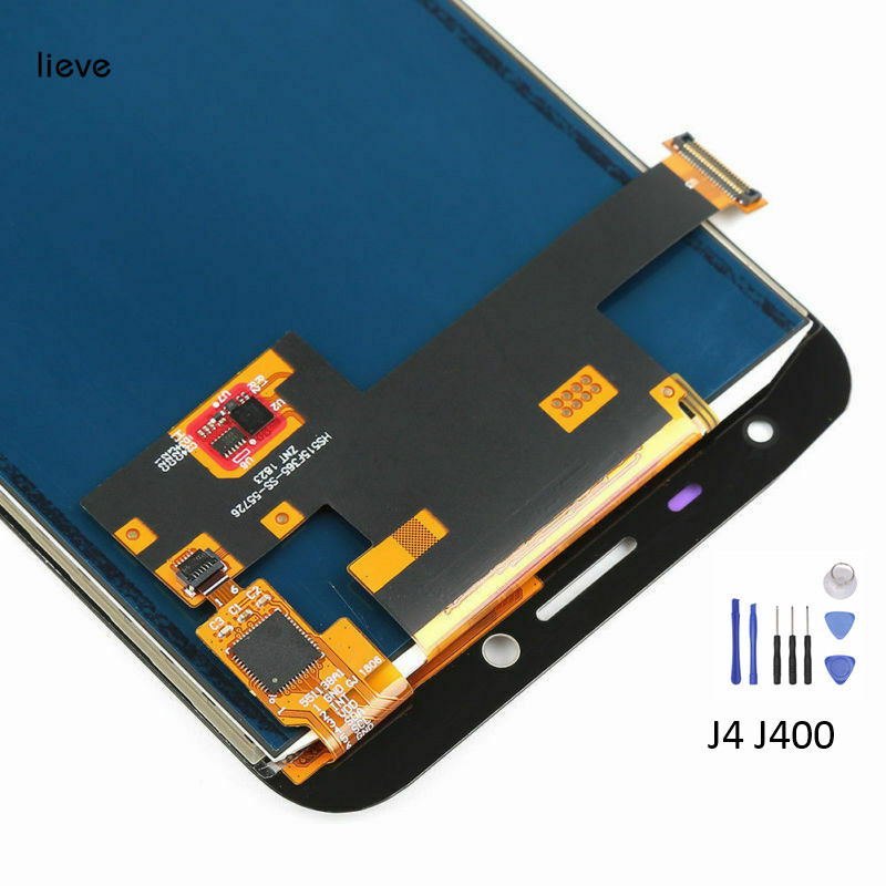 LCD Display Touch Screen Digitizer Assembly With Tools For Samsung J4 J400 Replacement with Free ShippingLCD Display Touch Screen Digitizer Assembly With Tools For Samsung J4 J400 Replacement with Free Shipping