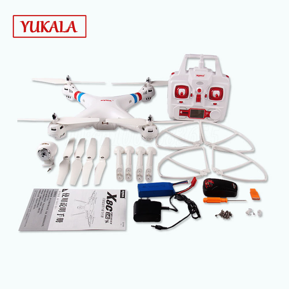 купить X8C Upgrade RC Drone with 2MP Camera 2.4G 6Axis RTF drone RC Quadcopter Helicopter Fit SJ6000 Camera VS X8G по цене 4826.08 рублей