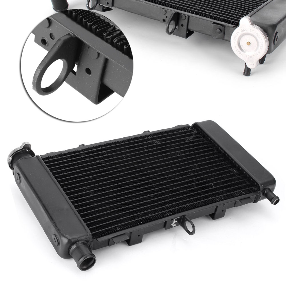 GZYF 1x Motorcycle Cooling Cooler Radiator For Yamaha FZ6 FZ6N FZ6S 2006 2007 2008 2009 2010