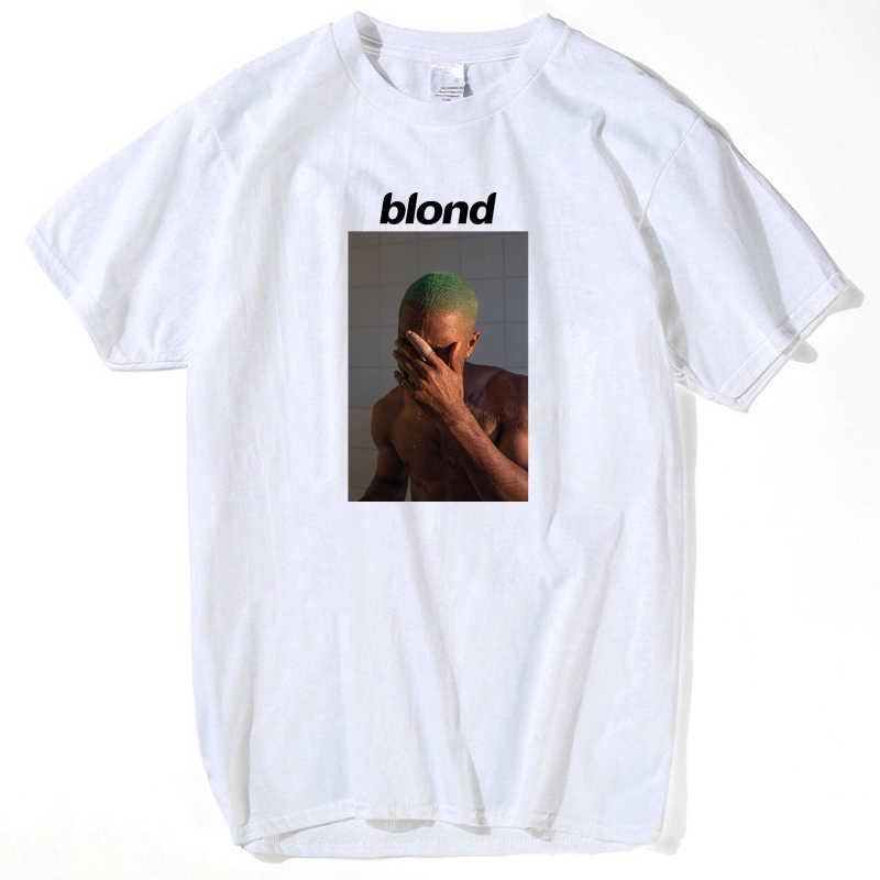 2019 Frank Ocean Blonde T Shirt Tee Shirt for Men Printed 2pac tupac Short Sleeve Funny Tee Shirts Top Tee summer tops for men's