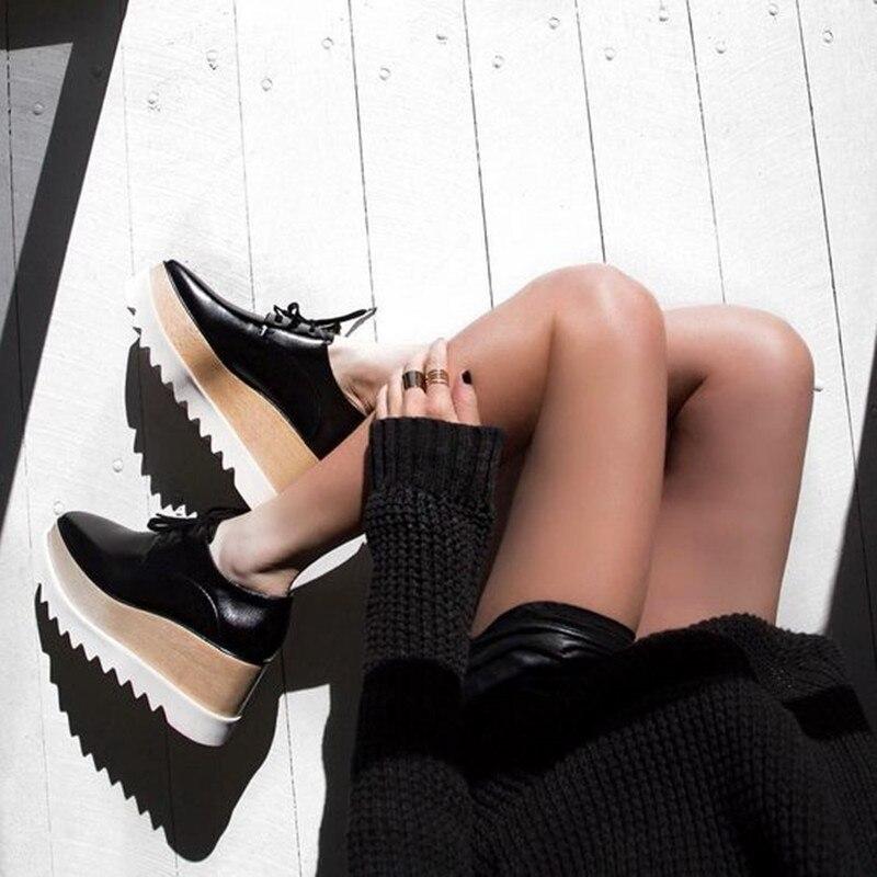 Show Femmes Mode En Marque Oxford forme Cuir as Classique De Plate Étoiles Dentelle Conception Elyse Plat Chaussures up Causal Métallisé As Show dxrCBoe