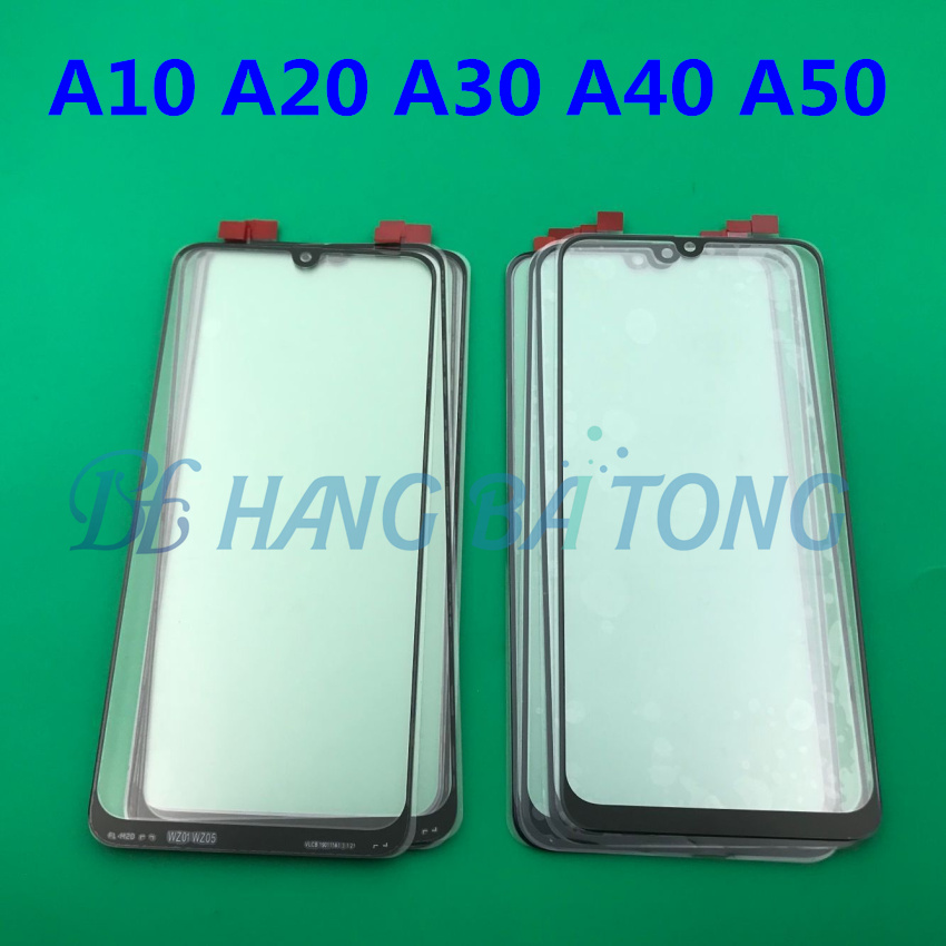 Image 1 - 100pcs Original Front Panel Sensor LCD Display Glass Cover Lens For SAMSUNG Galaxy A10 A20 A30 A40 A50 A60 A70 A80 A90 2019-in Mobile Phone Touch Panel from Cellphones & Telecommunications