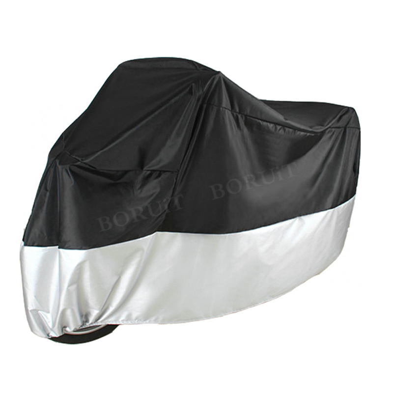 All Size Motorcycle Cover Waterproof Outdoor UV Protector Bike Dustproof Case Motorbike Scooter L/XL/XXL Motorcycle Rain Cover quad bike atv cover black waterproof four wheeler storage cover size l xxl xxxl