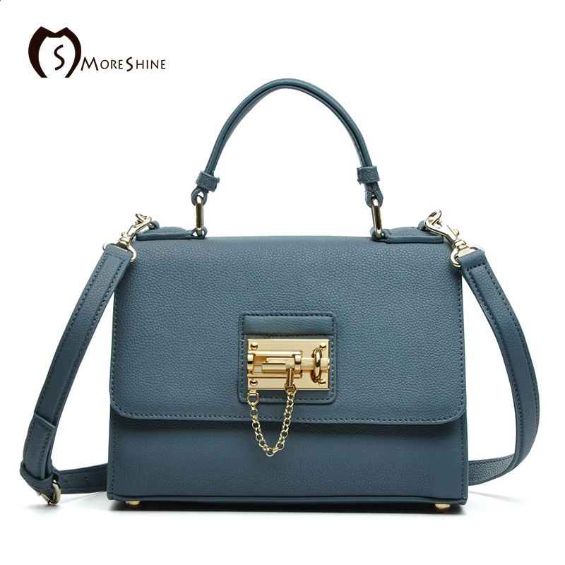 MORESHINE brand women bag with Lock genuine leather shoulder bags ladies designer crossbody bag tote Cover bag Female Handbag high quality women messenger bags ladies tote shoulder bag woman brand leather handbag crossbody bag with lock designer bolsas