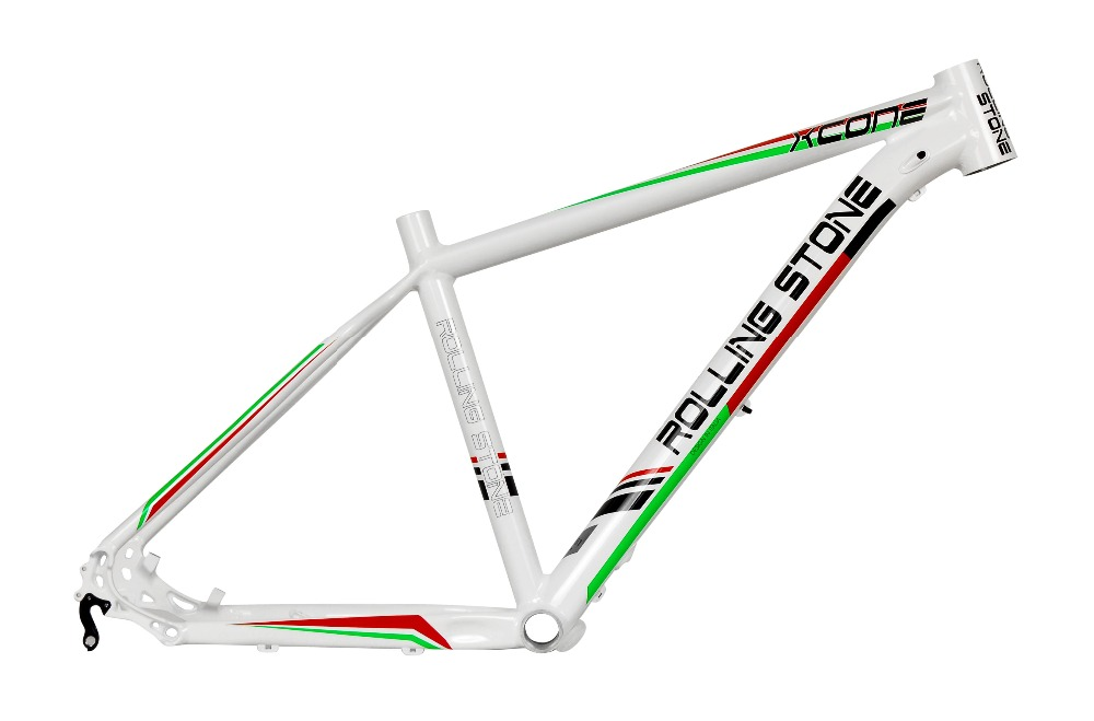 New Rolling Stone XC ONE 27.5 MTB Frame 16 17 inches white green