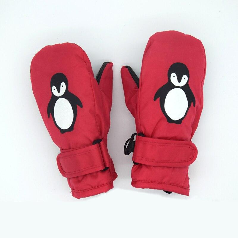 1-8years boa qualidade bebê mitten para o inverno crianças meninos meninas ao ar livre luvas quentes à prova de vento à prova dwindproof água
