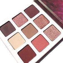DGAFO 9 Color Eyeshadow Palette Powder Pigment Makeup Long-lasting Shimmer Beauty Matte Eye Shadow Maquiagem