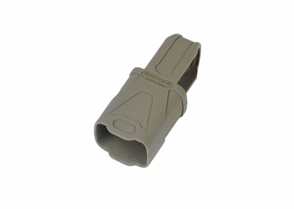 Acecare 9mm45 Subgun Magazine Loop 1 Pack Rubber Loops for M4 M16 Magazine clip Black tan for hunting
