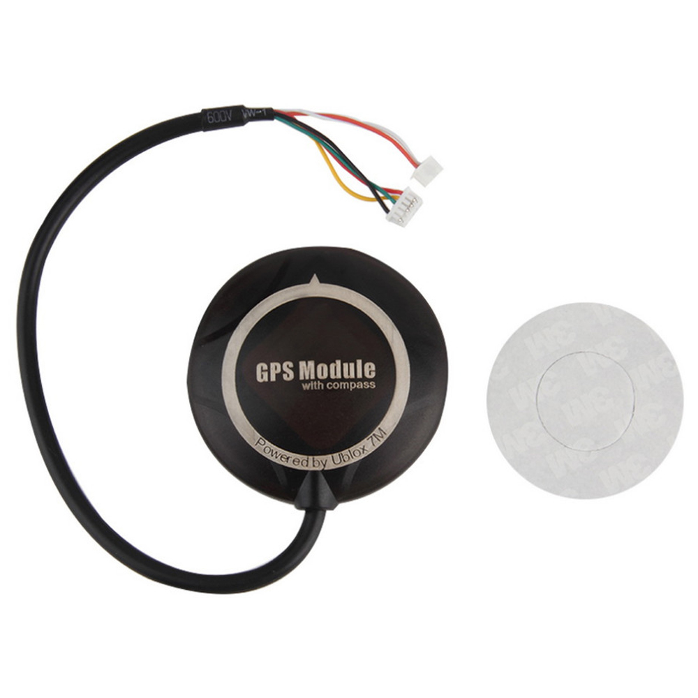 Register shipping 1 set CRIUS NEO-GPS & MAG V2 NEO-7M GPS Module w/Compass for APM Pixhawk PX4 Flight