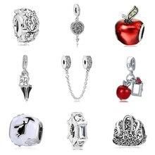 9058c0b141f Nuevo Original Chapado en plata Aleación de cuentas nieve blanca Mary  Poppins encanto Fit Pandora pulsera