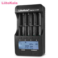 Liitokala Lii 500 Smart LCD Battery Charger For 18650 26650 16340 14500 10440 Batteries