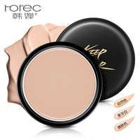 Professionelle Basis Makeup Concealer Foundation Cream 3 Farben Marke Horec Feuchtigkeitsspendende Abdeckung Poren Camouflage Contouring Palette