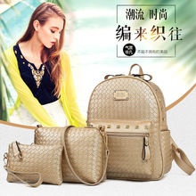 Luxury PU Women Purse And Backpack Set Creative Chains Shape Design Women s Gift Fashion Portable