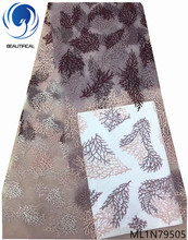 Beautifical french net lace fabric cheap african wholesale high quality 5 yards/lot new arrival ML1N795