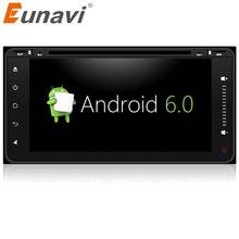 Eunavi 2 DIN Android 6.0 dvd-плеер автомобиля радио GPS для Toyota Hilux Vios старый Camry Прадо RAV4 Prado 2003 2004 2005 2006 4 ядра
