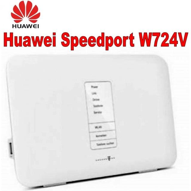 Speedport W724V ADSL ADSL2 +/VDSL2/DSL modem à fibers optiques/routeur SIP VoIP DLNA + NAS routeur domestique routeur