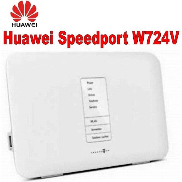 جهاز توجيه منزلي بمنفذ W724V ADSL ADSL2 +/VDSL2/DSL من الألياف البصرية/جهاز توجيه SIP VoIP DLNA + NAS 802.11b/g/n/التيار المتناوب