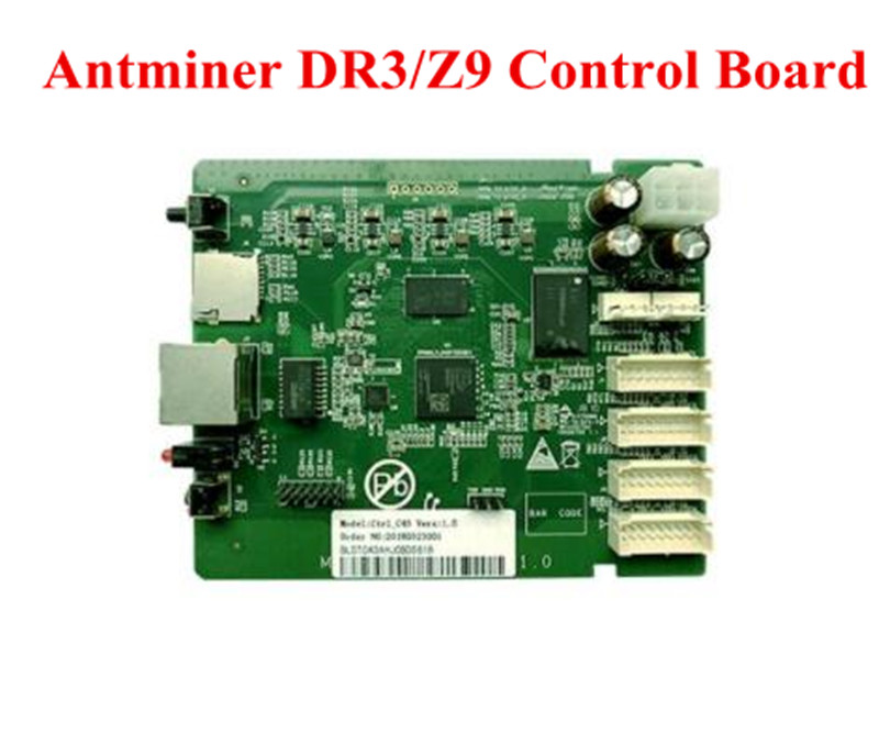 купить New BITMAIN Antminer DR3 Z9 40.8K Data Circuit Board Control Board Motherboard Replace For Bad ANTMINER DR3 Z9